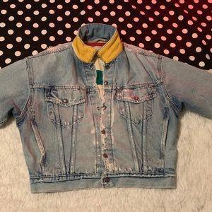 Levi's Hudson Bay Jean jacket reversible denim